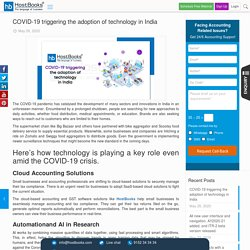 COVID-19 triggering the adoption of technology in India