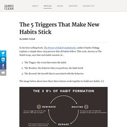 5 Triggers That Make New Habits Stick