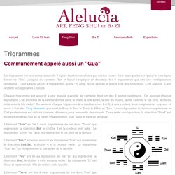 Trigrammes - les Guas - Alelucia