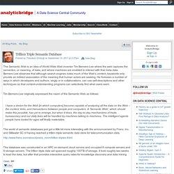 Trillion Triple Semantic Database