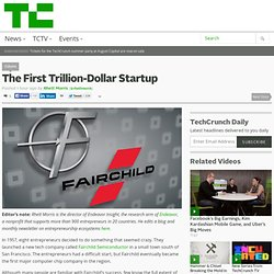 The First Trillion-Dollar Startup