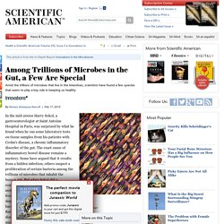 Among Trillions of Microbes in the Gut, a Few Are Special