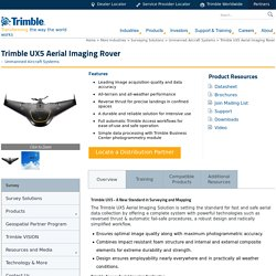 Trimble UX5 Aerial Imaging Rover