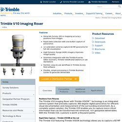 Trimble V10 Imaging Rover