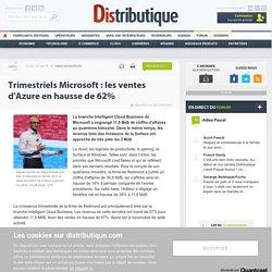 Azure, locomotive du cloud chez Microsoft au 4e trimestre
