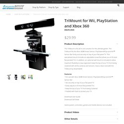 TriMount for Wii, PlayStation and Xbox 360 - dreamGEAR