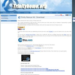 Trinity Rescue Kit: Download
