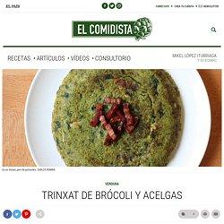 Trinxat de brócoli y acelgas