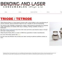 Triode For Trumpf - bendingandlaser.co.za