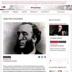 Jules Ferry triomphe - rts.ch - Les dossiers de l'histoire