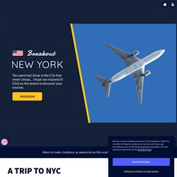 A TRIP TO NYC by DoltoPamEnglish on Genially