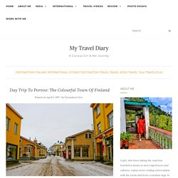 Day Trip To Porvoo: The Colourful Town Of Finland