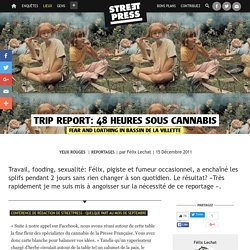 Trip report: 48 heures sous cannabis