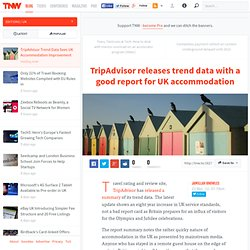 TripAdvisor Trend Data Sees UK Accommodation Improvement