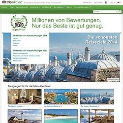 Travellers' Choice - TripAdvisor - Beste Strände, Familienurlaube, Hotels und Reiseziele