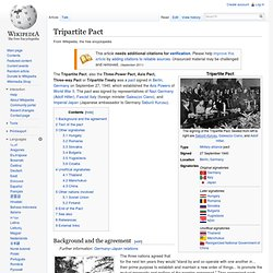 Tripartite Pact