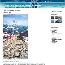 Triple Divide Peak, Montana - EPOD - a service of USRA