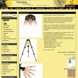 Tripod Report 703 from Berlebach ® Tripods