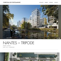 NANTES - TRIPODE - Christian de Portzamparc