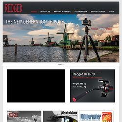 Redged | Dutch based tripods by Redged | Fluorietweg 21 A - Alkmaar - The netherlands - tel.+31 72 5409034