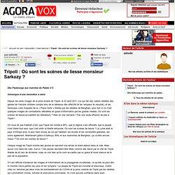 Tripoli : Où sont les scènes de liesse monsieur Sarkozy ?