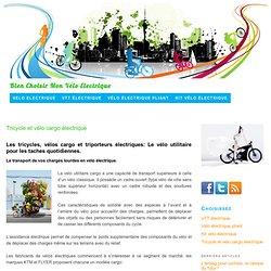 Tricycle triporteur et vélo cargo électrique — Vélos Electriques Conseils et Info