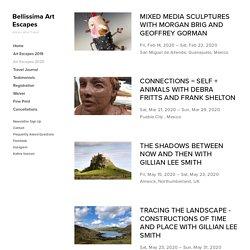 Trips 2020 — Bellissima Art Escapes