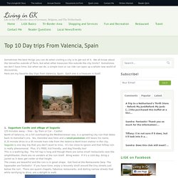 Top 10 Day trips From Valencia, Spain - Living in GK