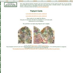 Triptych Card Templates