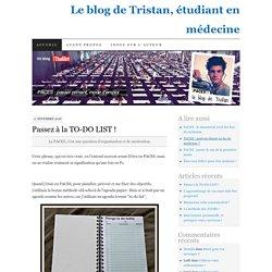 Le blog de Tristan, étudiant en médecine