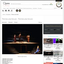 Tristan et Isolde (Œuvre - Richard Wagner/Richard Wagner)