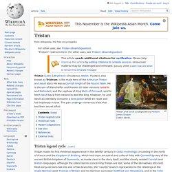 Tristan - Wikipedia