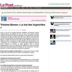 "Tristane Banon Le bal ""International"" des hypocrites"