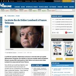 La triste fin de Didier Lombard à France Télécom
