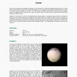 Triton, satellite de Neptune (NI)