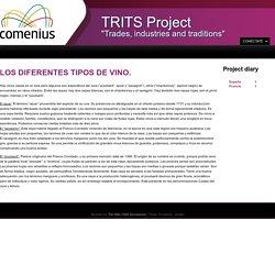 LOS DIFERENTES TIPOS DE VINO.