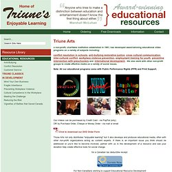 Enjoyable Learning: Triune Arts