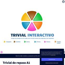 Trivial de repaso A1 by Pili Carilla on Genially