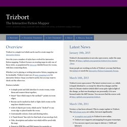 Trizbort, the Interactive Fiction Mapper