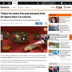 Troben les restes d'un gran banquet ritual de l'època ibera a la Llacuna