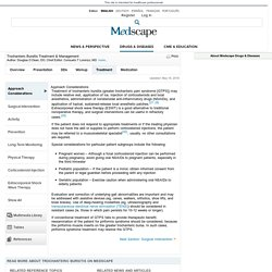 Trochanteric Bursitis Treatment & Management: Approach Considerations, Surgical Intervention, Activity