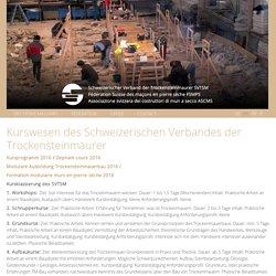 Kurswesen des Schweizerischen Verbandes der Trockensteinmaurer