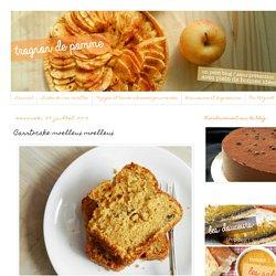 Trognon de pomme: Carrtocake moelleux moelleux
