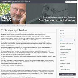 Trois ères spirituelles