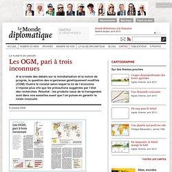 Carte OGM et pari à trois inconnues
