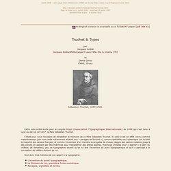Trois « inventions » du Père Truchet (1657-1729)