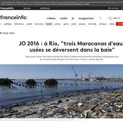 """JO 2016 : à Rio, """"trois Maracanas d'eaux usées se déversent dans la baie"""""""