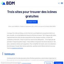Trois sites pour trouver des icônes gratuites - Blog du Modérateur