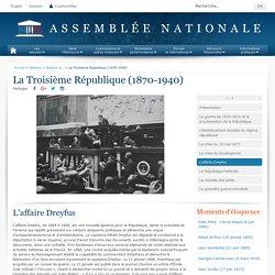 La Troisième République (1870-1940) - Histoire - Histoire de l'Assemblée nationale