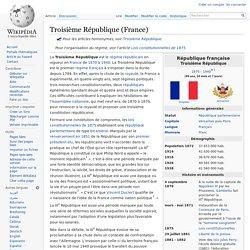 Troisième République (France)